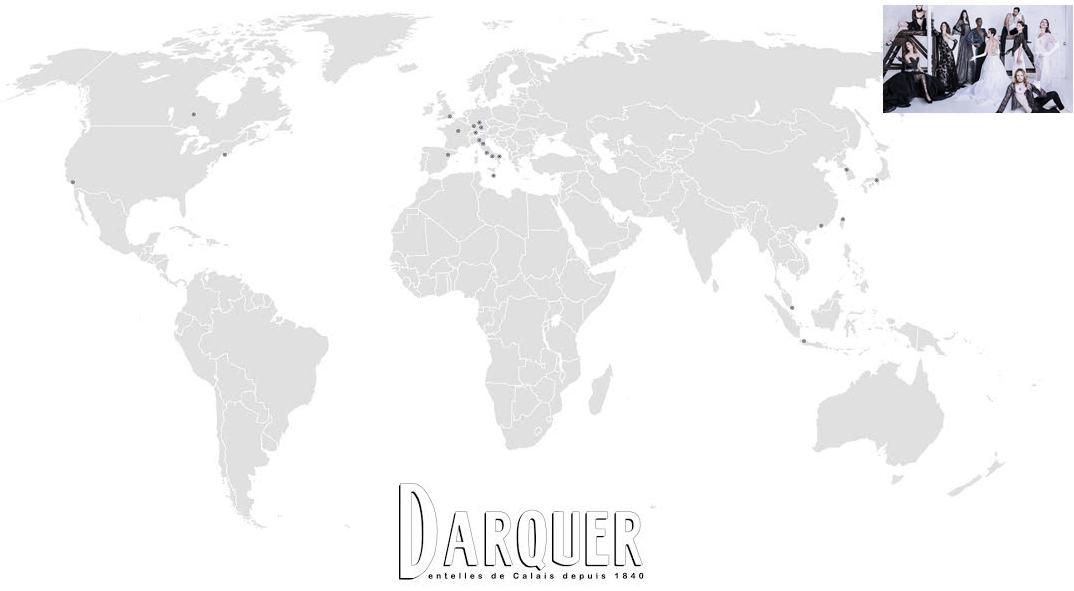 Darquer worldwide